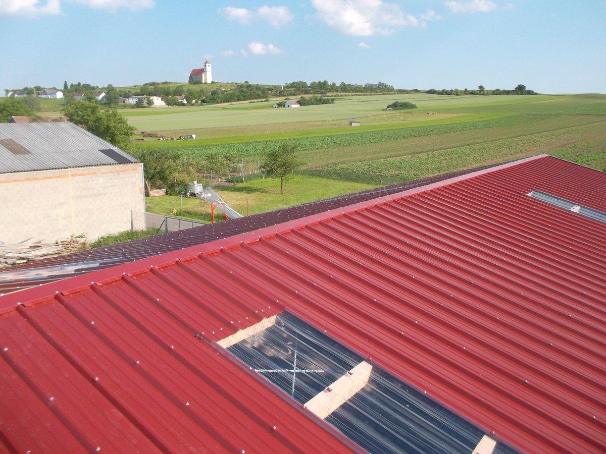 Sehr Dachdeckung ohne Isolierung wie Dachblech, Welleneternit MB18