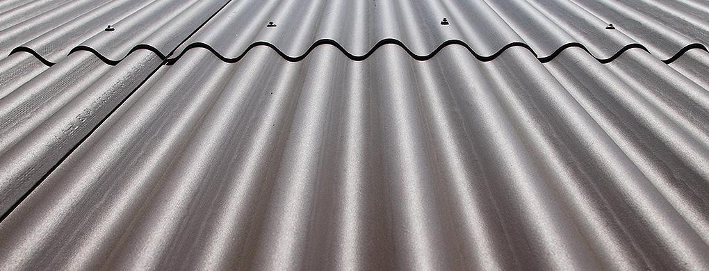 Bekannt Dachdeckung ohne Isolierung wie Dachblech, Welleneternit VU49